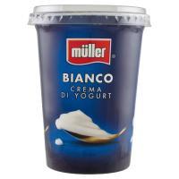 Müller, crema di yogurt bianco