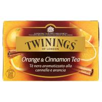 Twinings, Orange & Cinnamon Tea 20 filtri
