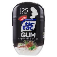 Tic tac Gum liquorice mint 125 gomme