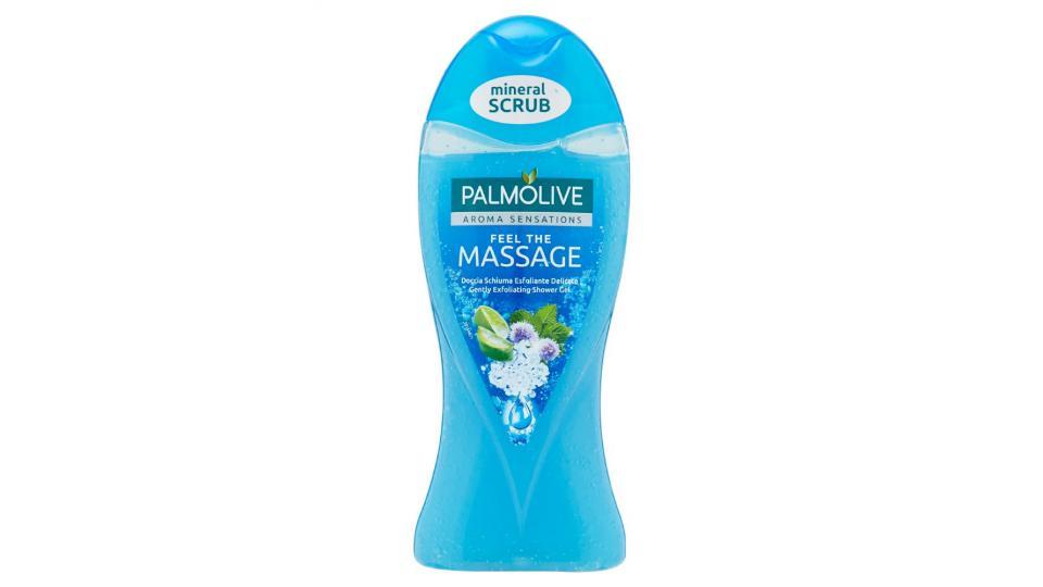 Palmolive, Aroma Sensations Feel the Massage doccia schiuma esfoliante delicato