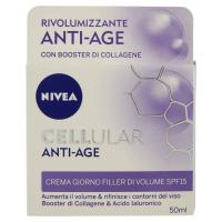 Nivea Cellular Anti-Age Crema giorno filler di volume SPF 15