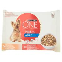 Purina, cane One Mini <10 kg Active bocconcini in salsa con pollo e manzo