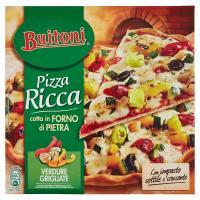 BUITONI PIZZA RICCA VERDURE GRIGLIATE Pizza surgelata 370g (1 pizza)