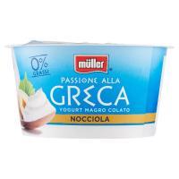 Müller, Passione alla Greca 0% yogurt magro alla nocciola
