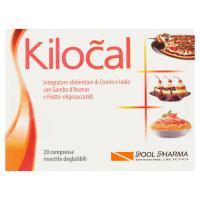 Kilocal, con cromo, iodio, gamboo d'ananas e frutto-oligosaccaridi