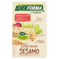 Pesoforma, pasti dimagranti cracker al sesamo