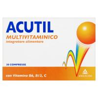 Acutil, Multivitaminico 30 compresse