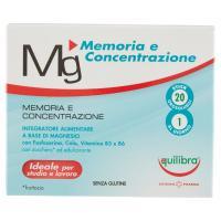 Equilibra, Mg Memoria e Concentrazione 20 stick orosolubili
