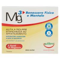 Equilibra, Mg3 Benessere Fisico e Mentale 20 stick orosolubili
