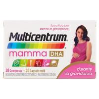 Multicentrum, mamma DHA 30 Compresse + 30 Capsule molli