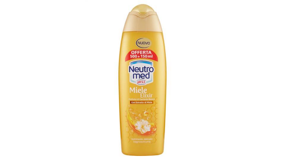 Neutromed, pH 5.5 Miele Elixir bagnos chiuma