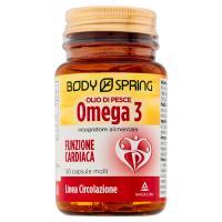 Body Spring, Linea Circolazione olio di pesce omega 3 50 capsule molli