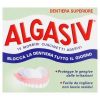 Algasiv, cuscinetti adesivi per protesi dentali superiore