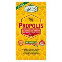 I Verdi Rimedi, Propolis 20 compresse gola masticabili con stevia* gusto arancio