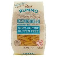 Rummo, Senza Glutine Mezze Penne Rigate n. 28 pasta di riso integrale mais