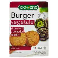 Kio-Ene Burger vegetale ai carciofi e pomodorini secchi