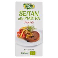 Natura Nuova Bio Seitan alla piastra Vegetale , ricco di proteine  2 porzioni, da agricoltura biologica