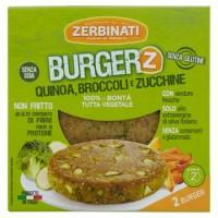 Zerbinati Burger con quinoa, broccoli e zucchine