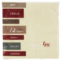 Smarttex Soft Touch Tovaglioli tessuto non tessuto, colore beige, misura 40x40 cm