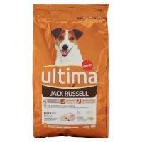 Ultima, cane Jack Russel alimento con pollo
