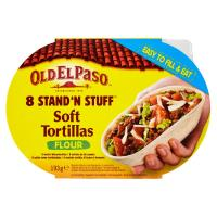 Old El Paso, 8 Stand'n stuff tortilla morbide
