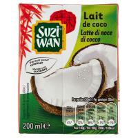 Suzi Wan, latte di noce di cocco