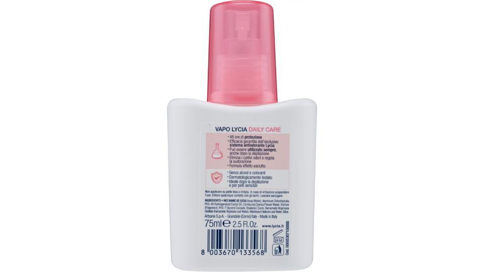 Lycia, Daily Care deodorante vapo no gas
