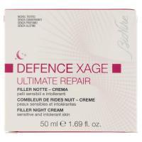 BioNike Defence Xage Ultimate Repair Filler Notte - Crema per pelli sensibili e intollernati