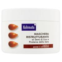 Kelémata, ristrutturante ai semi di lino e proteine della seta maschera