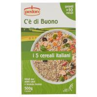Pedon, C'è di buono I 5 cereali italiani grano farro orzo riso e avena