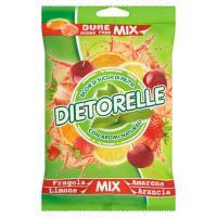Dietorelle Dure sugar free Mix fragola, limone, amarena, arancia