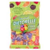 Dietorelle Morbide sugar free Mix fragola, limone, arancia, mora