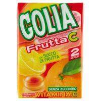 Golia caramelle con succo di frutta arricchite con vitamina C senza zucchero senza glutine