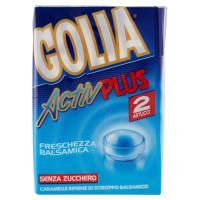 Golia Activ plus caramelle alla menta senza zucchero senza glutine