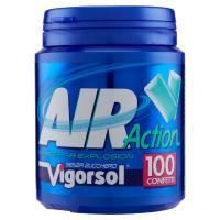 Vigorsol Air Action chewing gum in confetti senza zucchero senza glutine