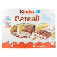 Kinder, Cereali conf.