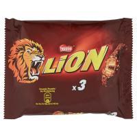 Lion, snack con wafer toffee e cereali ricoperti di cioccolato al latte