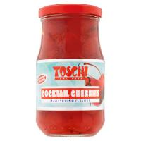 Toschi, Cocktail cherries maraschino flavour
