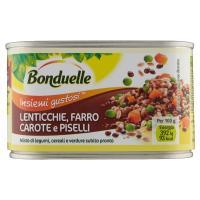 Bonduelle, Insiemi Gustosi lenticchie, farro, carote e piselli