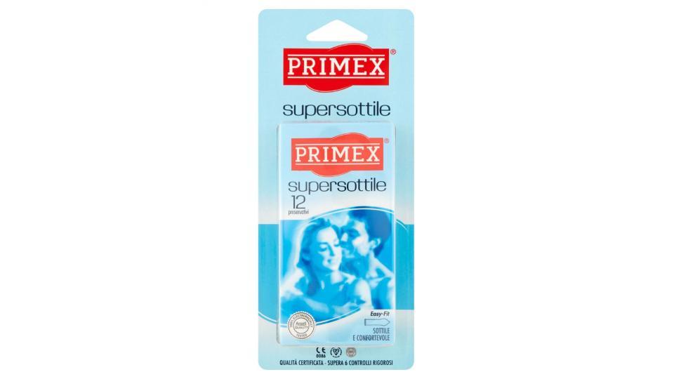 Primex, Supersottile profilattici