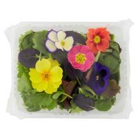 Misticanza e fiori edibili, confezionati
