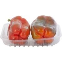 Peperoni rossi, confezionati