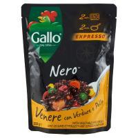 Gallo, Expresso Nero Venere con verdure e pollo