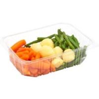 Esselunga I Pronti in Tavola Tris di verdure al vapore con carotine, patate  e fagiolini verdi