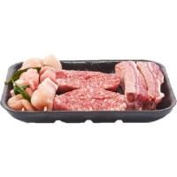 Esselunga I Pronti da Cuocere suino misto per grigliata con  salamelle mantovane (salsicce per la Toscana), spiedini di alloro e  puntine di suino