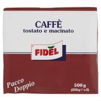 Fidel, caffè tostato e macinato