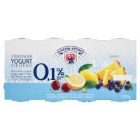 Sterzing Vipiteno, 0,1% grassi yogurt magro ciliegia/limone/mirtillo nero/ananas
