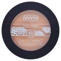 Lavera Bio Fondotinta + cipria compatta 2 in 1 ivory 01