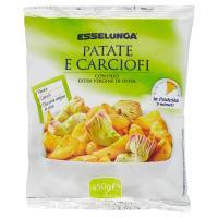 Esselunga, patate e carciofi surgelati