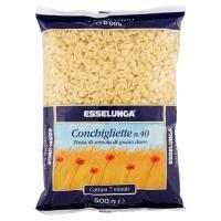 Esselunga, Conchigliette n. 40 pasta di semola di grano duro